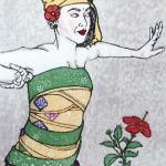 山本さん    『ガムランの踊り』