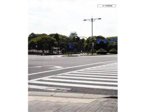 完成した天守閣を平川門から見たら(想像図)