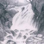 須釜汀水 瀑布