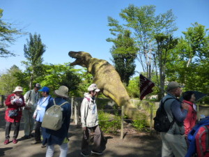 ティラノサウルスの化石?
